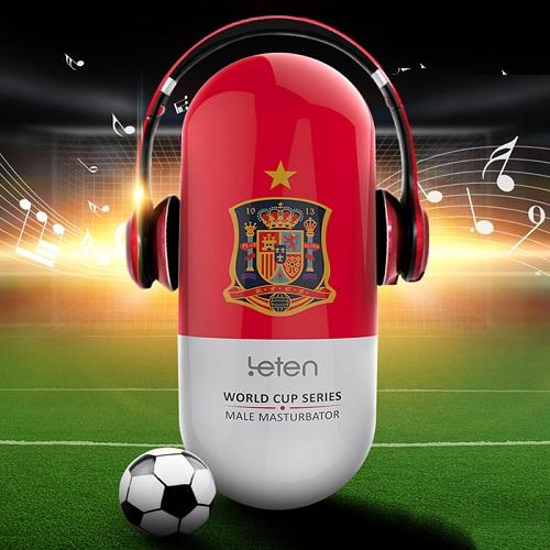Cốc thủ dâm Leten Football có rung sạc điện
